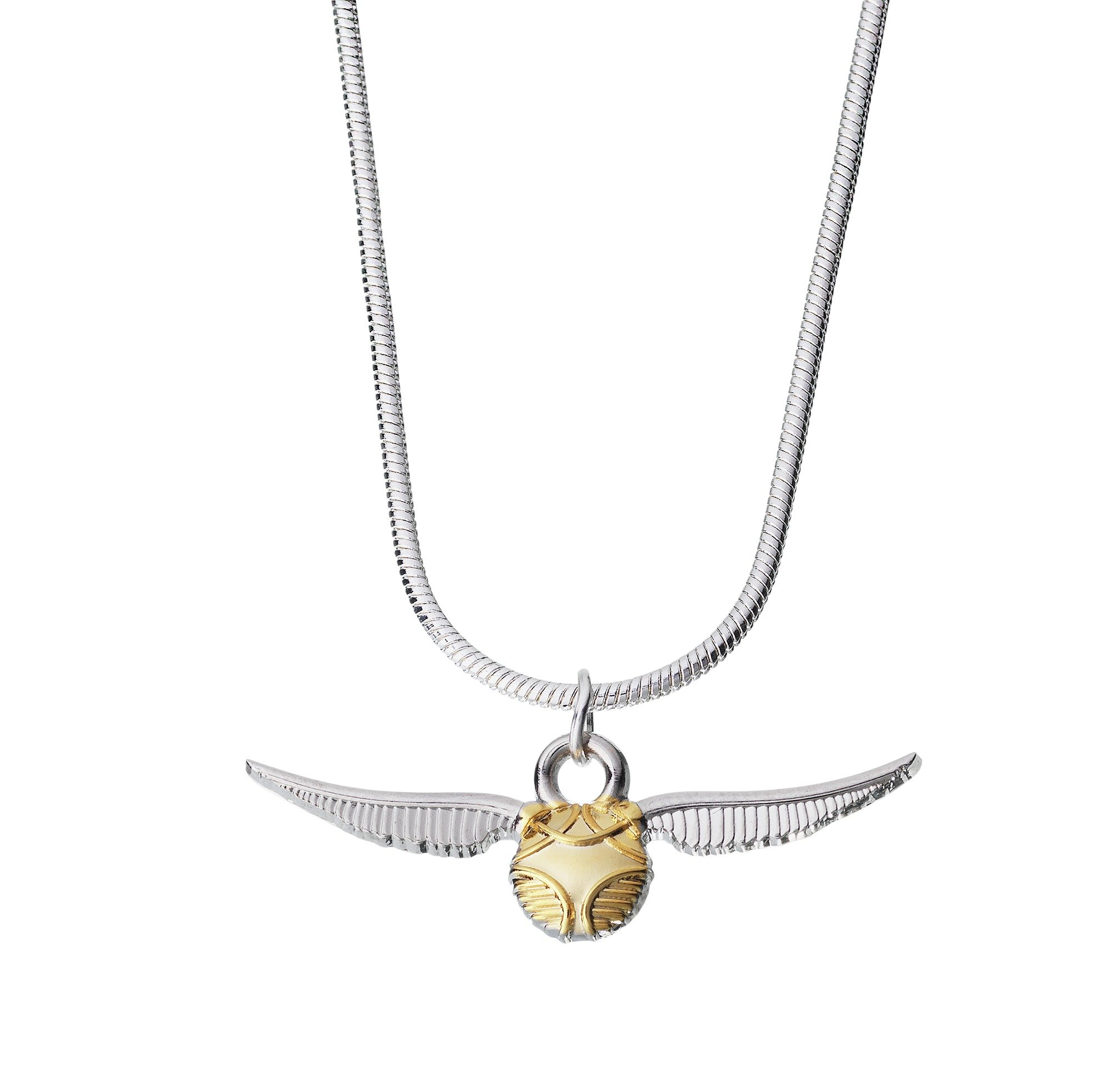 Harry Potter Silver Plated Snitch Pendant.