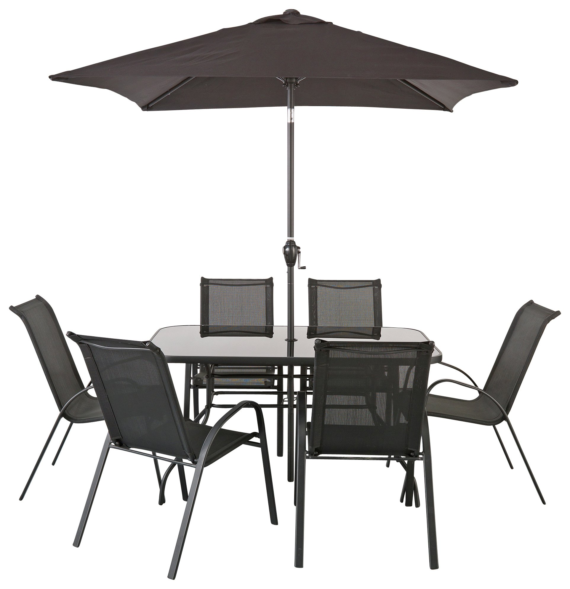 Garden Furniture 6 Seater buy home sicily 6 seater patio furniture set at argos.co.uk - your