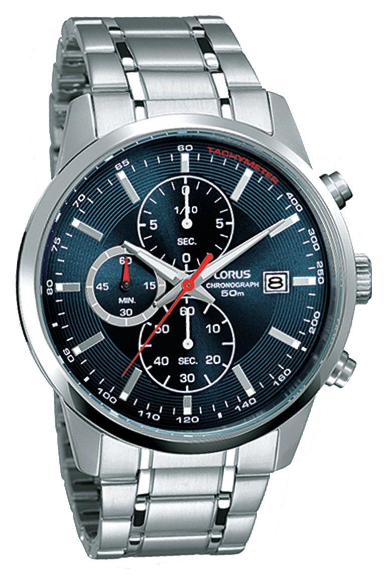 Lorus - Mens Blue Dial Chronograph - Watch