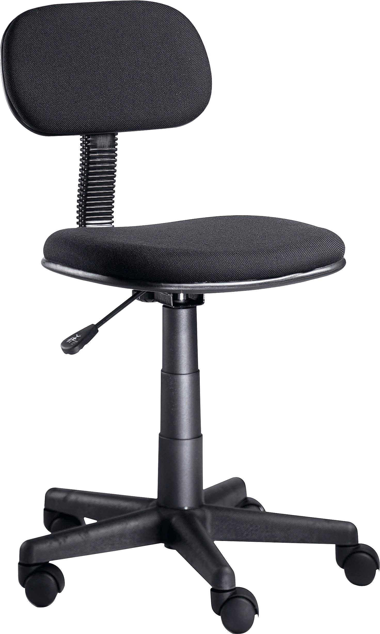 Buy Gas Lift Height Adjustable Office Chair Black At