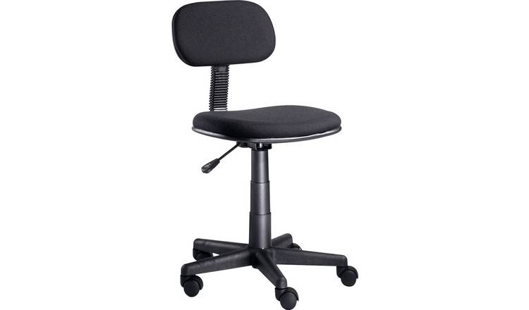 Stupendous Buy Argos Home Fabric Office Chair Black Office Chairs Argos Evergreenethics Interior Chair Design Evergreenethicsorg