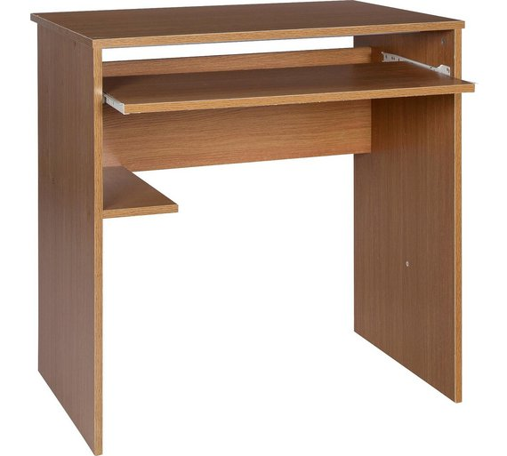 Buy HOME Office Desk and Chair Set - Oak Effect at Argos.co.uk ...