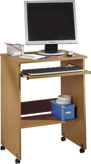 functional pc trolley oak effect review. Black Bedroom Furniture Sets. Home Design Ideas