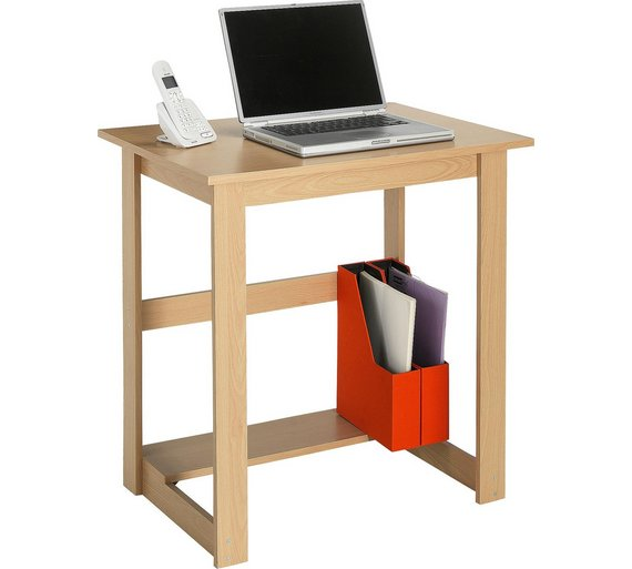 Buy Office Desk Beech Effect At Your Online Shop For Desks And Workstations