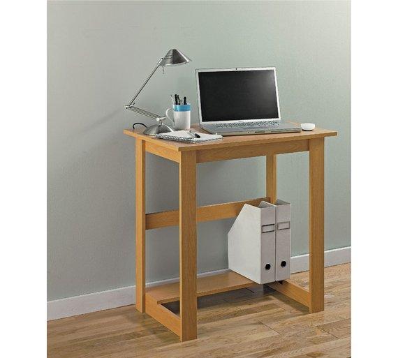 Buy Office Desk - Beech Effect at Argos.co.uk - Your Online Shop ...
