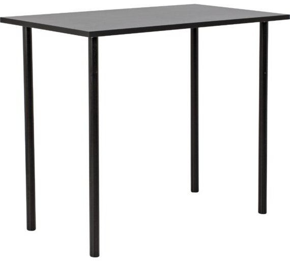 Buy carly office desk black at your online shop for desks and workstations Argos home office furniture uk