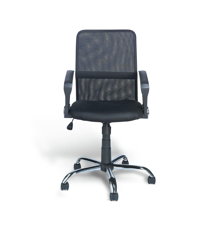 Habitat Mesh Mid Back Ergonomic Office Chair - Black