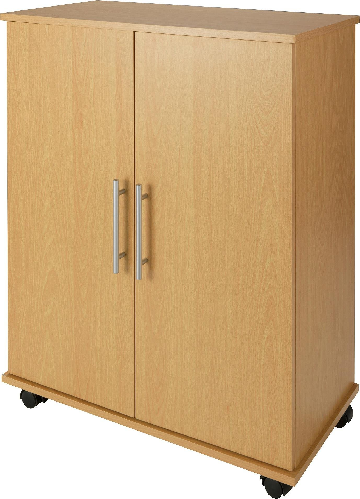 Buy Home Storage Cupboard Beech Effect At Argos Co Uk Your Online Shop For Filing Cabinets