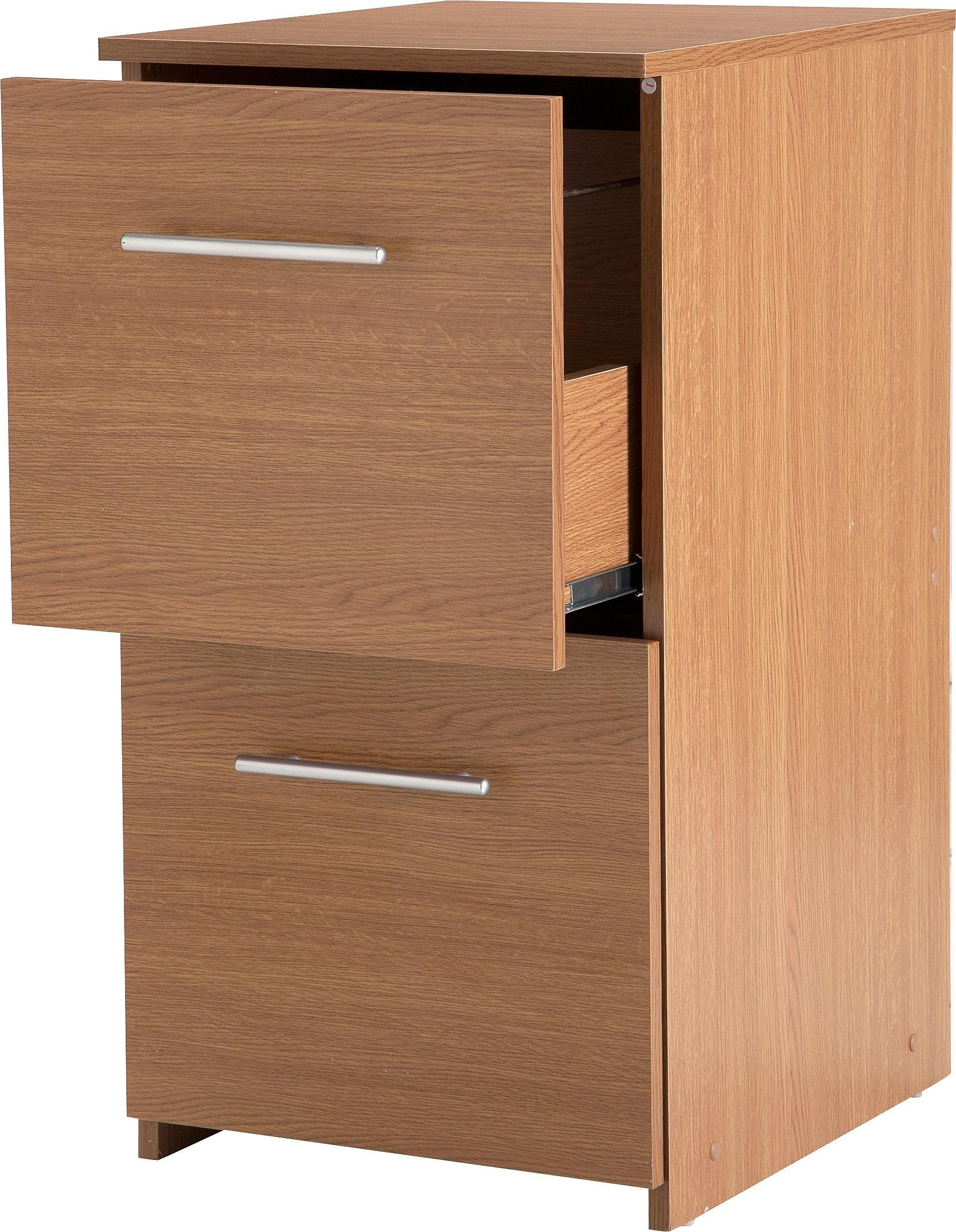 2 drawer filing cabinet oak effect review for How to increase cabinet depth
