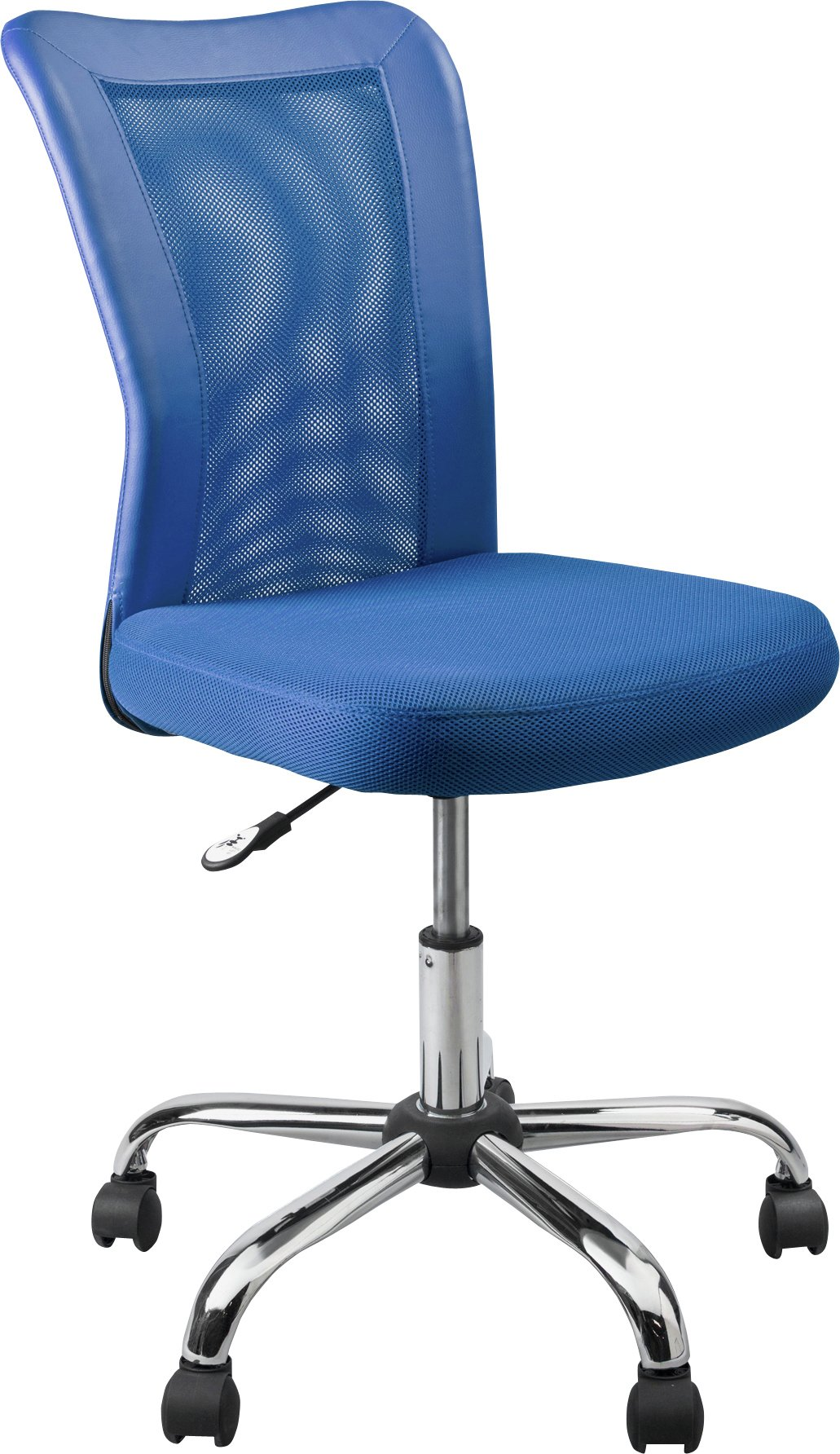 HOME Reade Mesh Gas Lift Adjustable fice Chair Blue