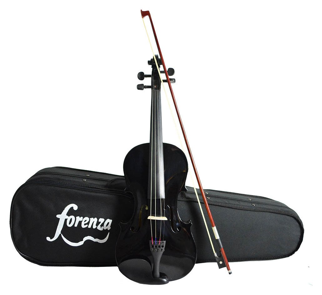 Forenza Uno Series 3/4 Violin - Black. lowest price