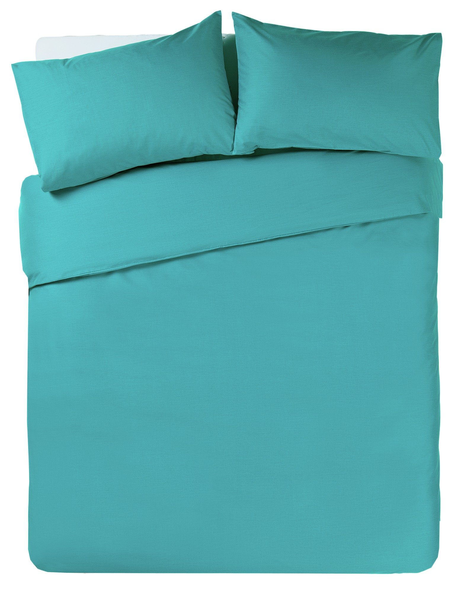 colourmatch teal bedding set  double