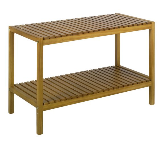 Buy Collection Bamboo Bathroom Bench At Argos Co Uk Your Online