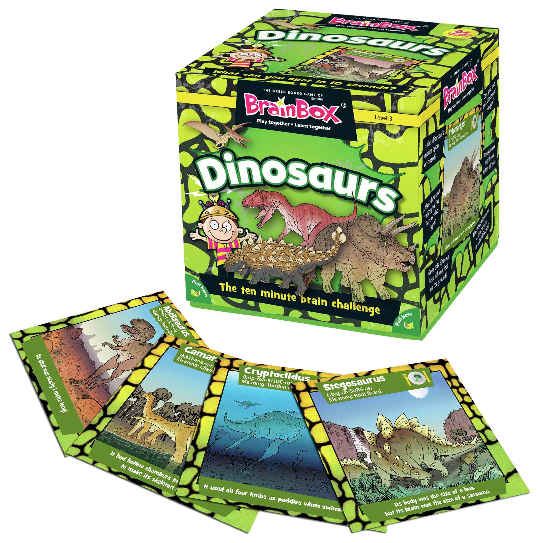 Image of BrainBox Dinosaurs Game.