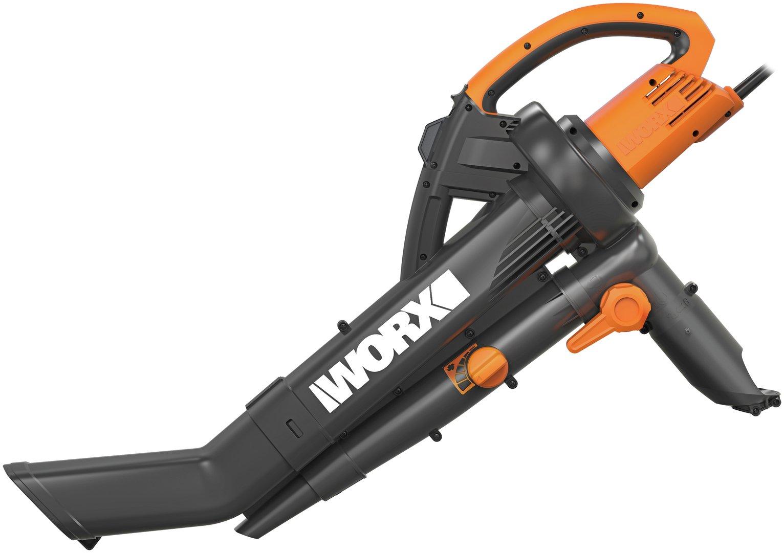 Worx Wg501e Trivac Garden Vacuum 3000w