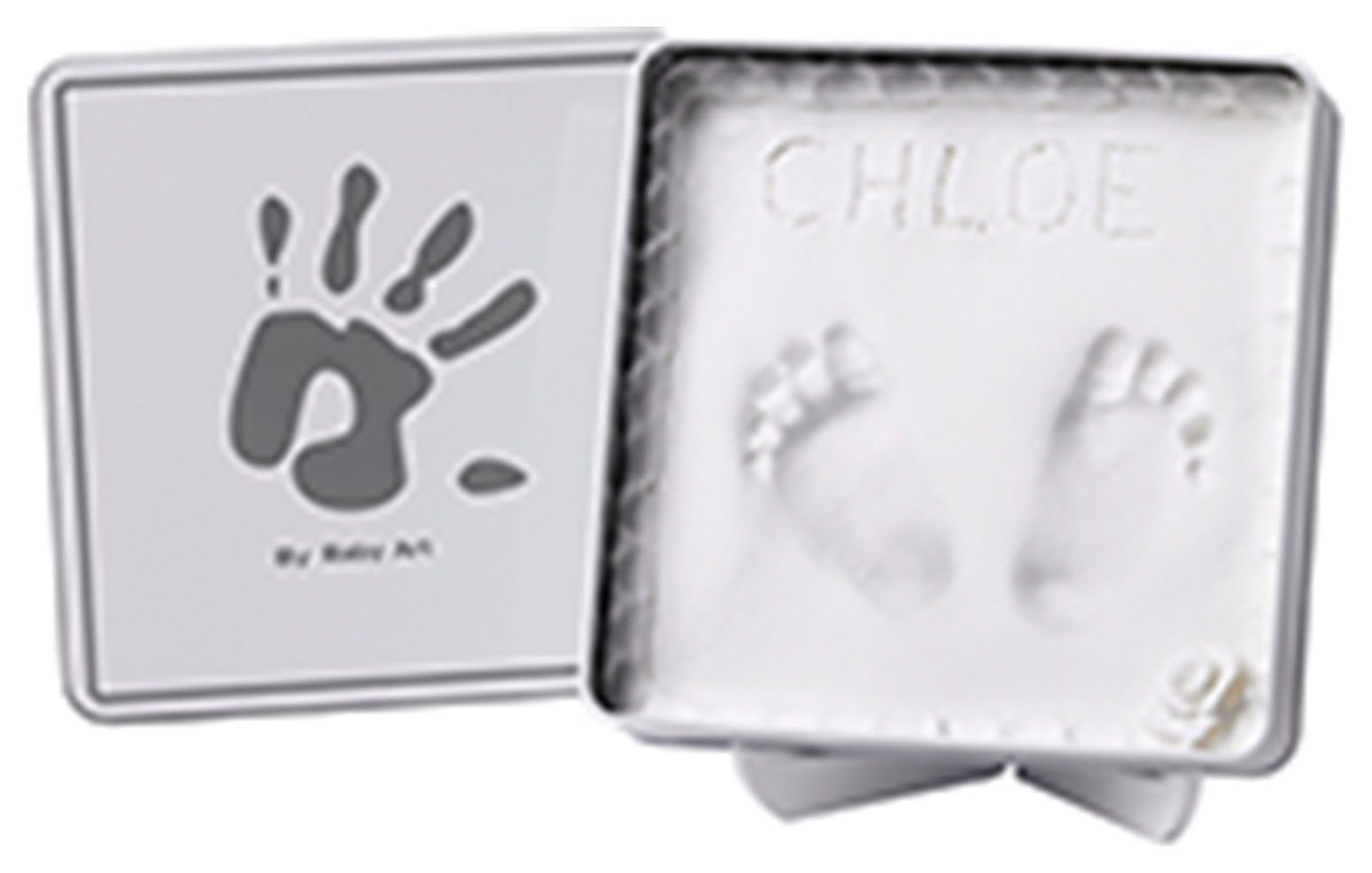 Image of Baby Art Magic Box Gift Set - White and Grey.