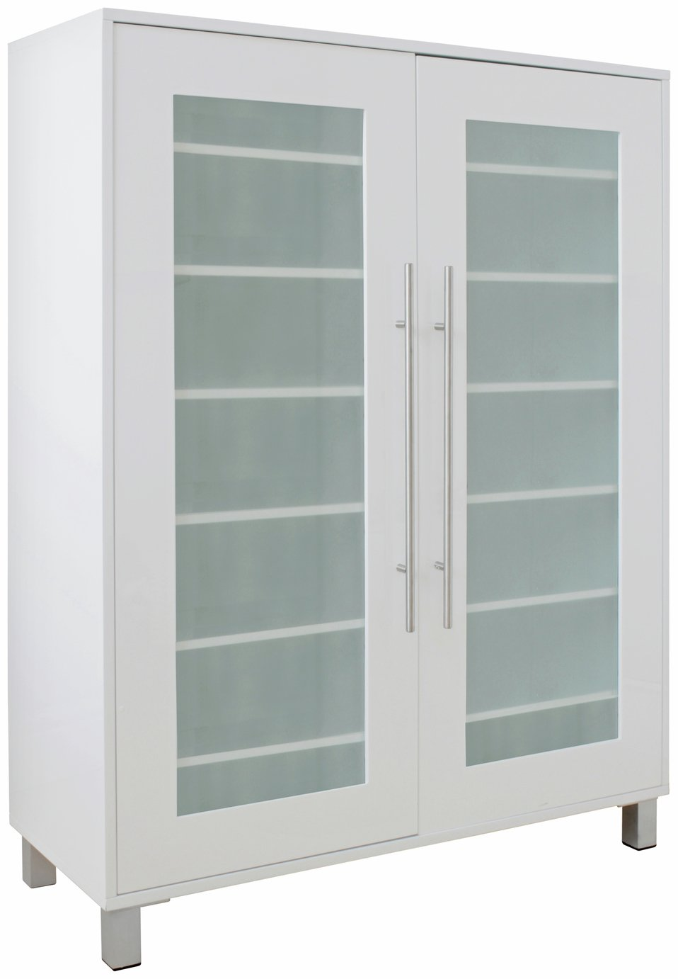 Hygena Lydiard Gloss Shoe Cabinet   White Part 19