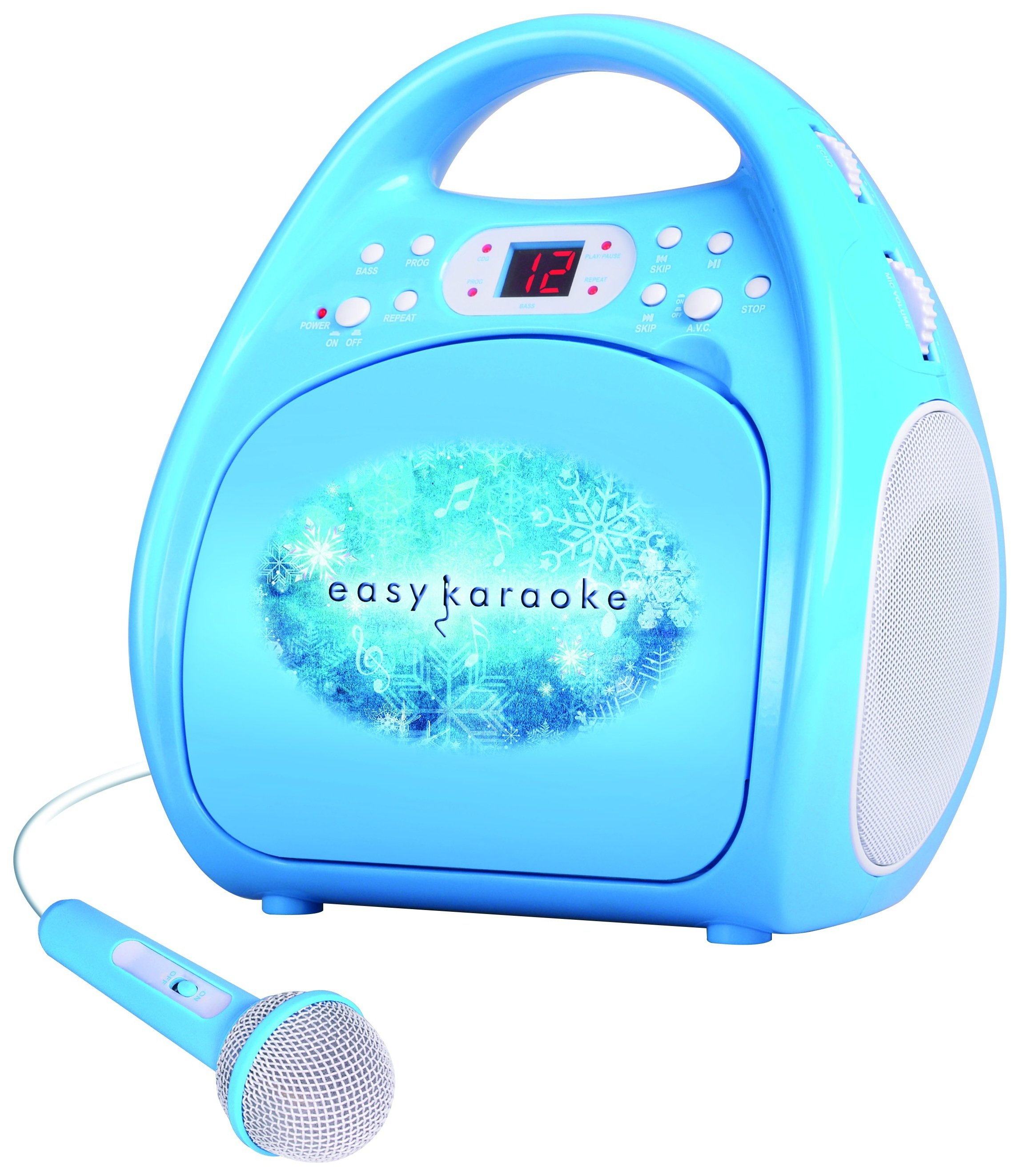 Image of Easy Karaoke EKS-123 Karaoke Boom Box.