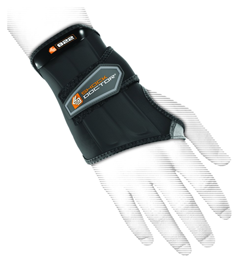 Shock Doctor Left Wrist Wrap Support - X Large. lowest price
