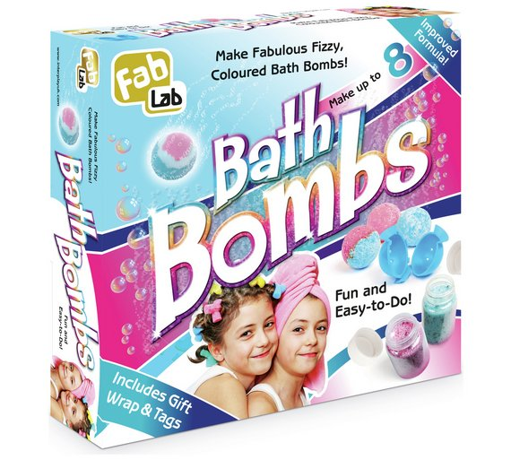 FabLab Bath Bombs
