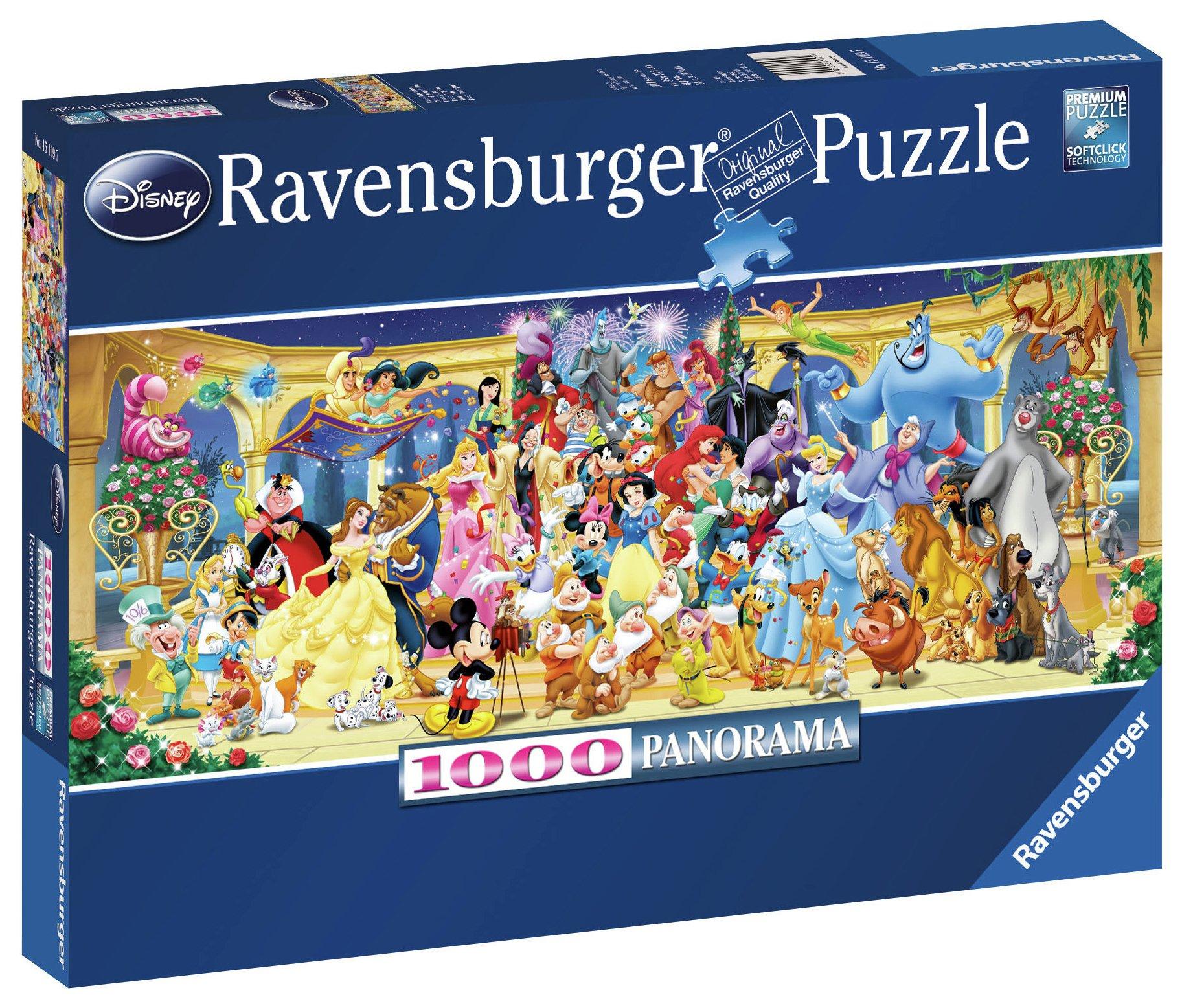 Disney 1000 Piece Panoramic Puzzle.
