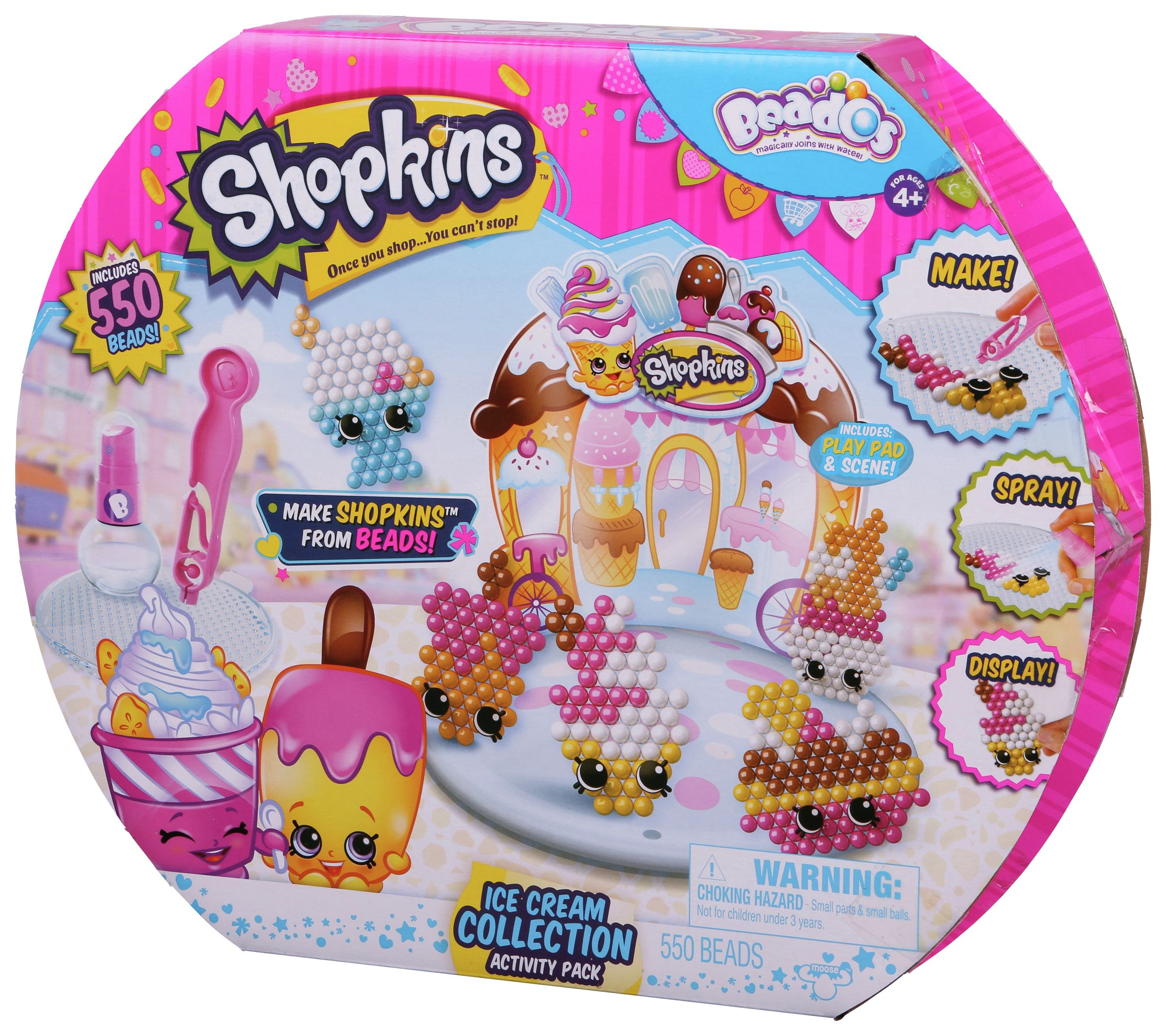 Image of Beados Shopkins Activity Pack