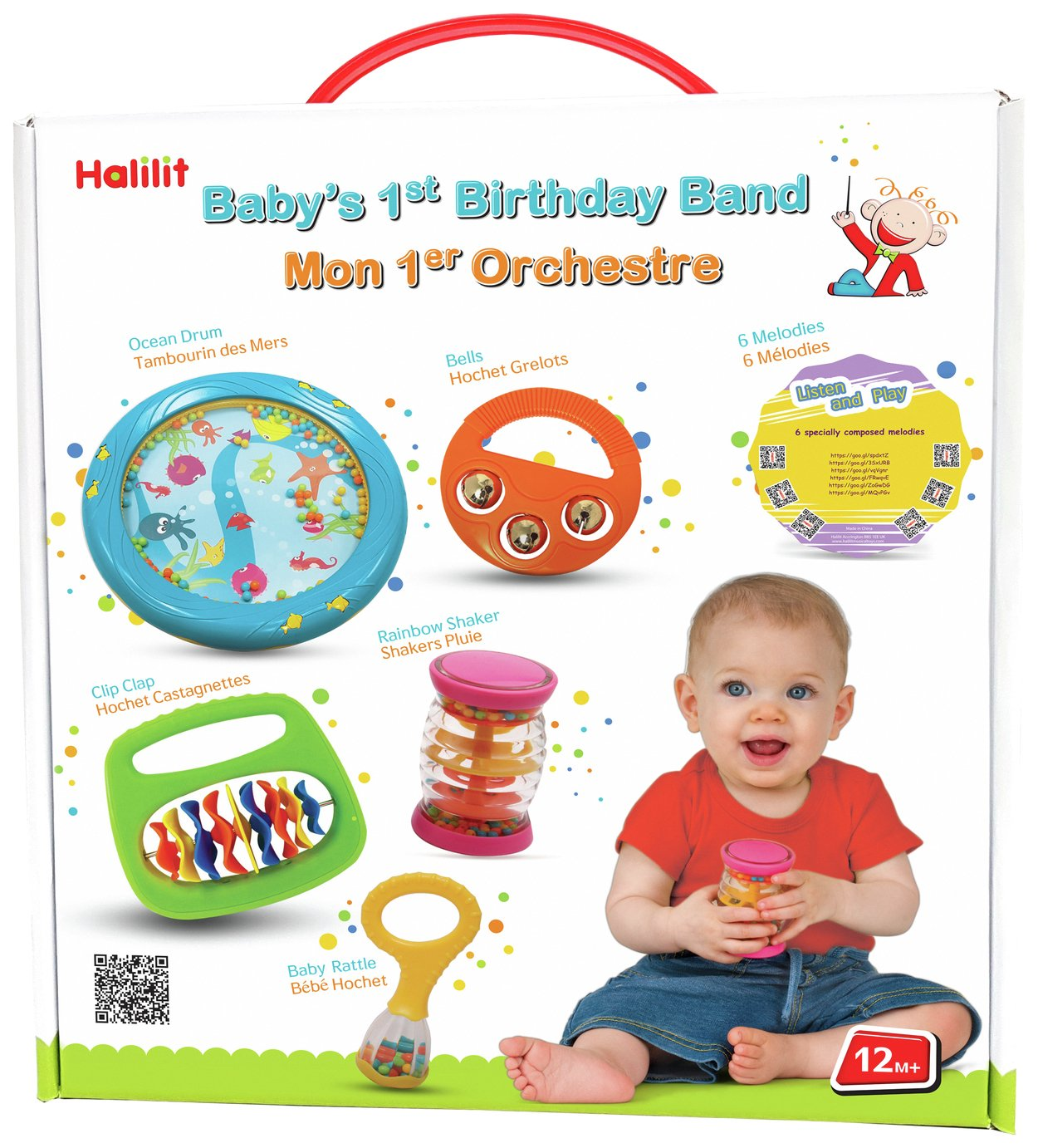 Image of Halilit - Baby's First Birthday Band