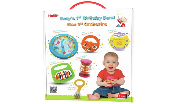 Halilit Baby's First Birthday Band