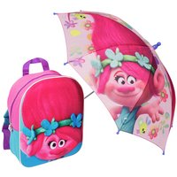 Trolls - Backpack & Umbrella