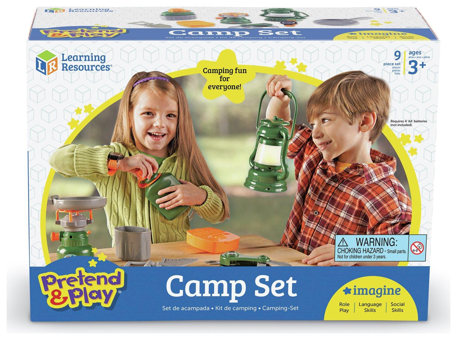 Pretend & Play - Camp Set