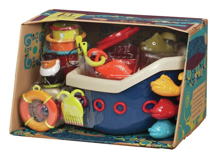 Image of B Fish and Splish Bath Time Toy.