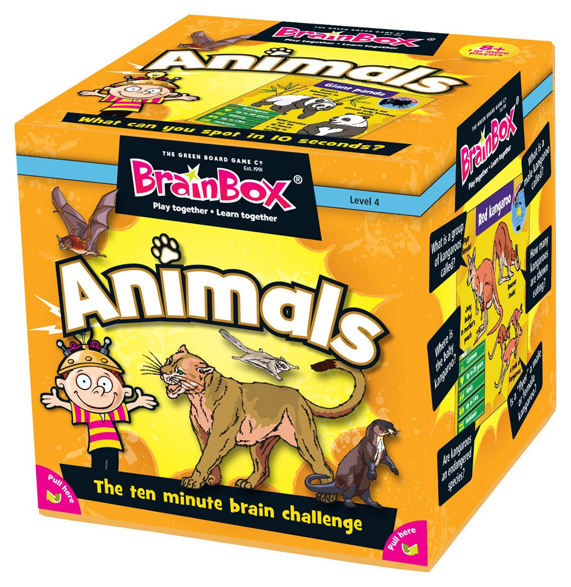 Image of Brainbox Animals Quiz Game.