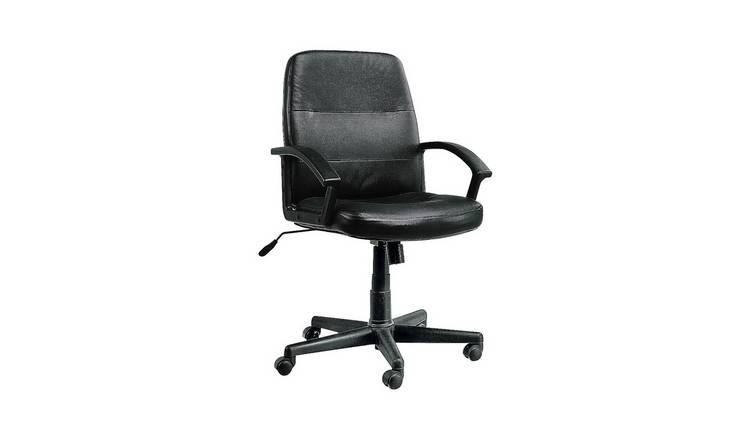 Buy Argos Home Brixham Managers Office Chair Black Office Chairs