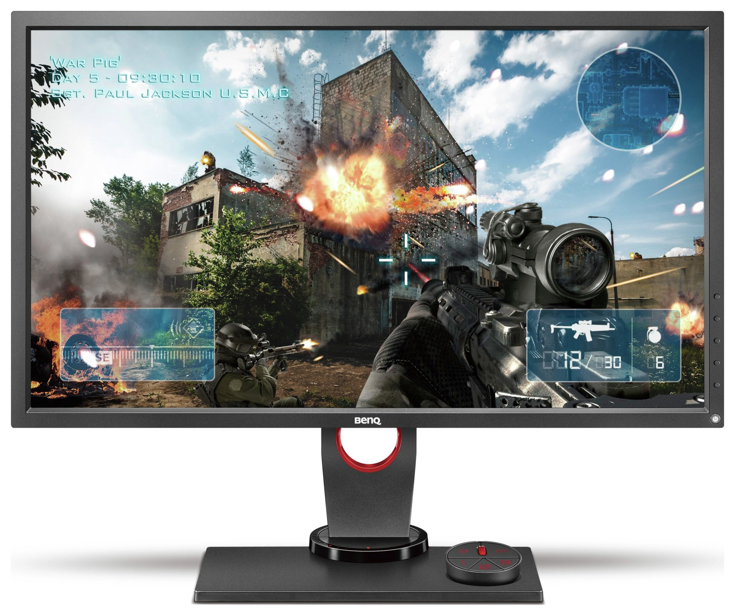 Image of BenQ Zowie XL2730 27 Inch Gaming PC Monitor.