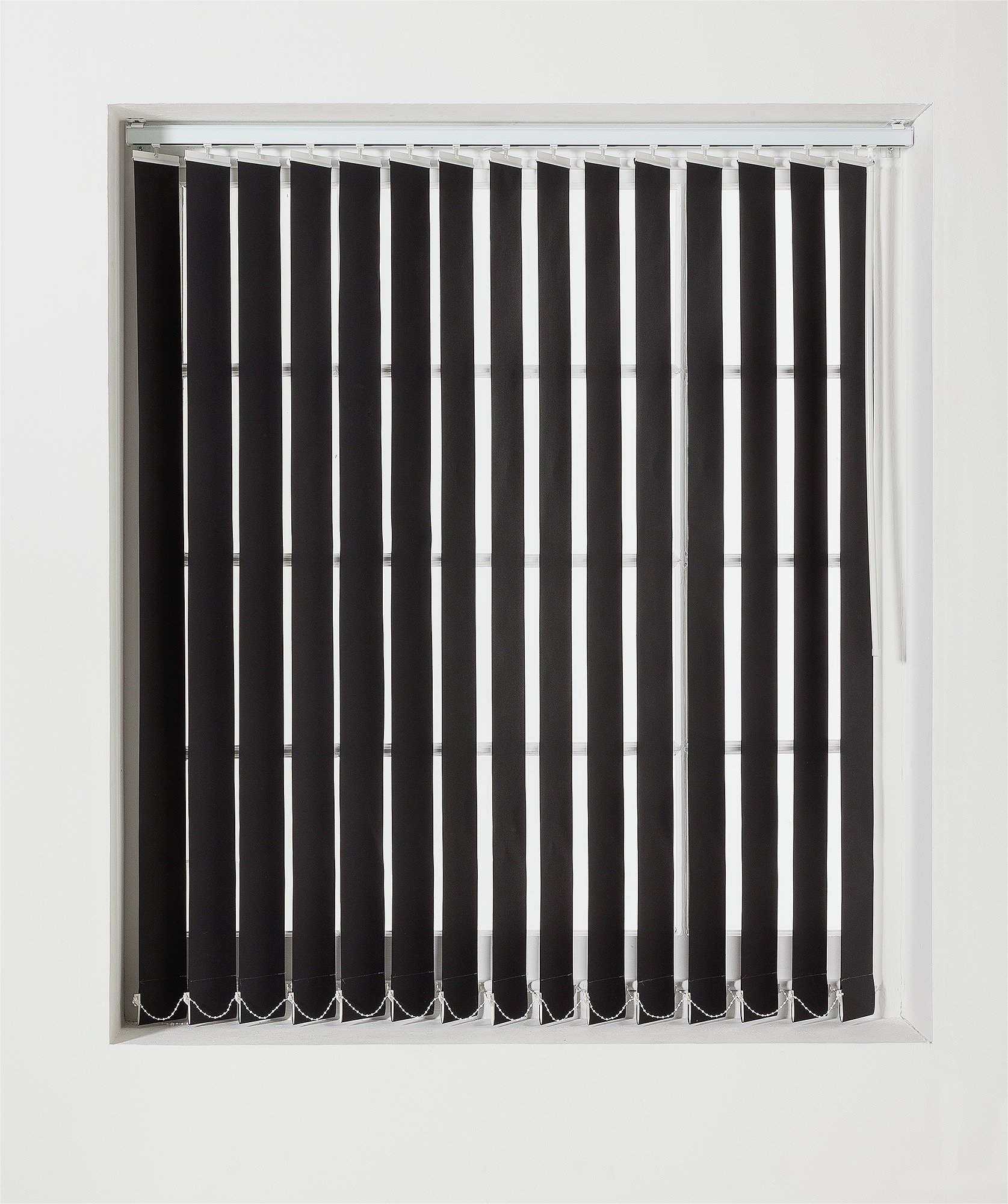 Buy Argos Home Vertical Blinds Slat Pack Black Daylight Blinds