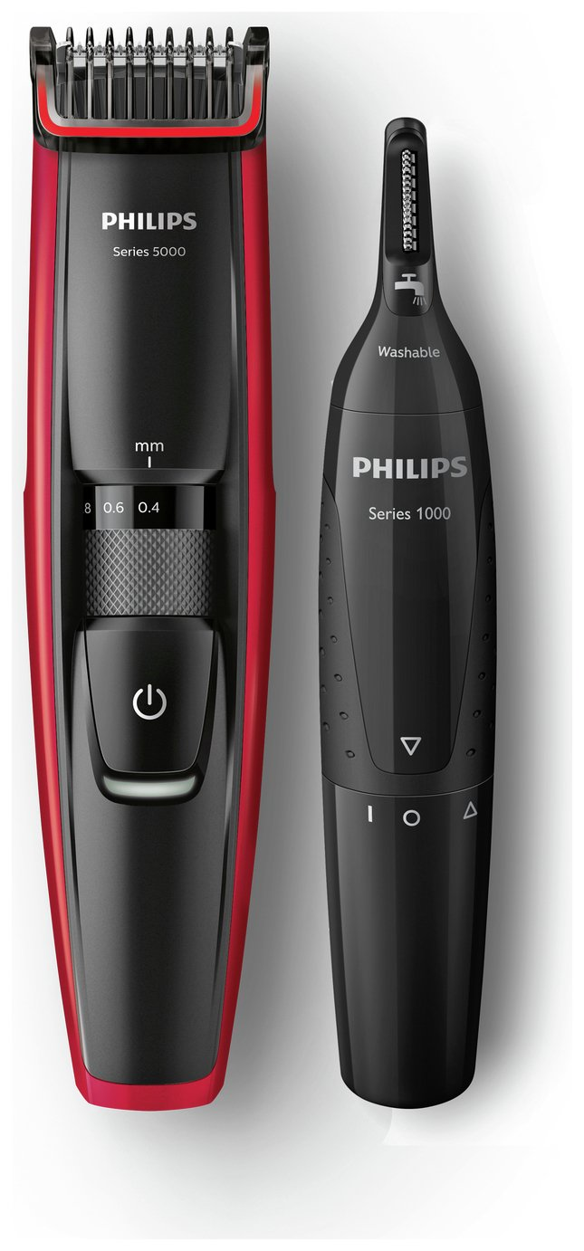 philips bt5203 advanced beard nose trimmer set series 5000 review. Black Bedroom Furniture Sets. Home Design Ideas