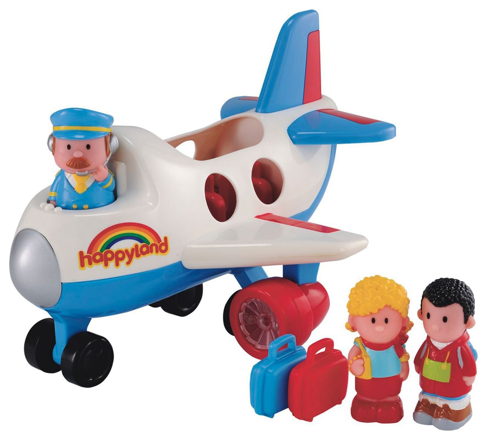 Early Learning Centre - Happyland Fly and Go Jumbo Jet