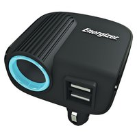 Energizer - 12V Socket and Twin USB Adapter