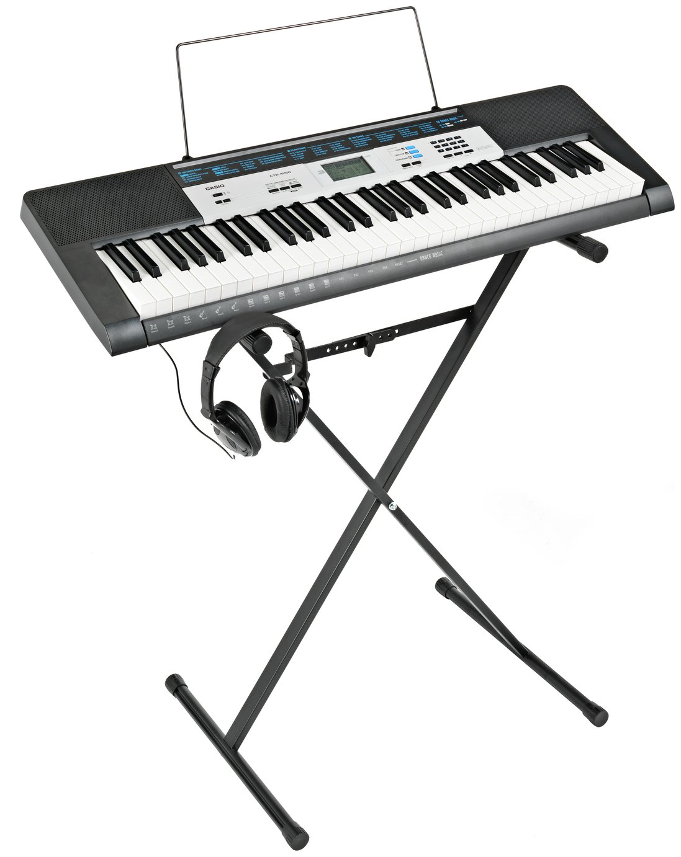 Casio Keyboard With Stand : casio lk 170 full size keyboard with stand and headphones ~ Hamham.info Haus und Dekorationen