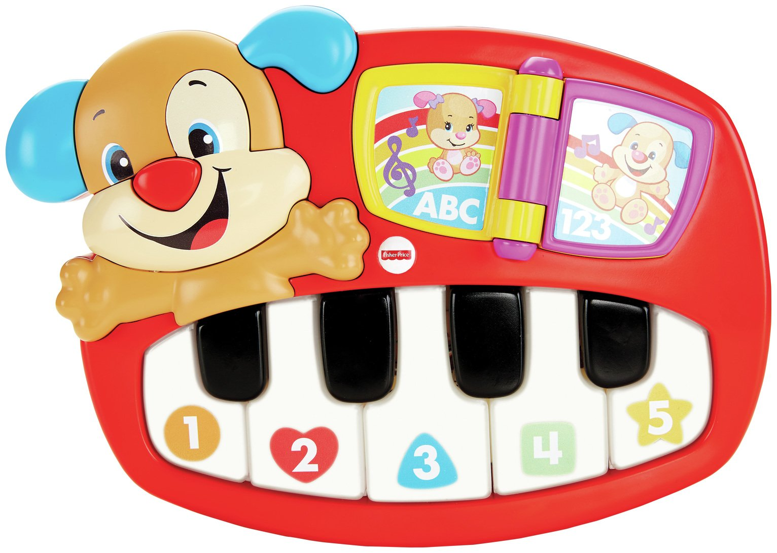 Image of Fisher-Price - Laugh and Learn Puppy's Piano