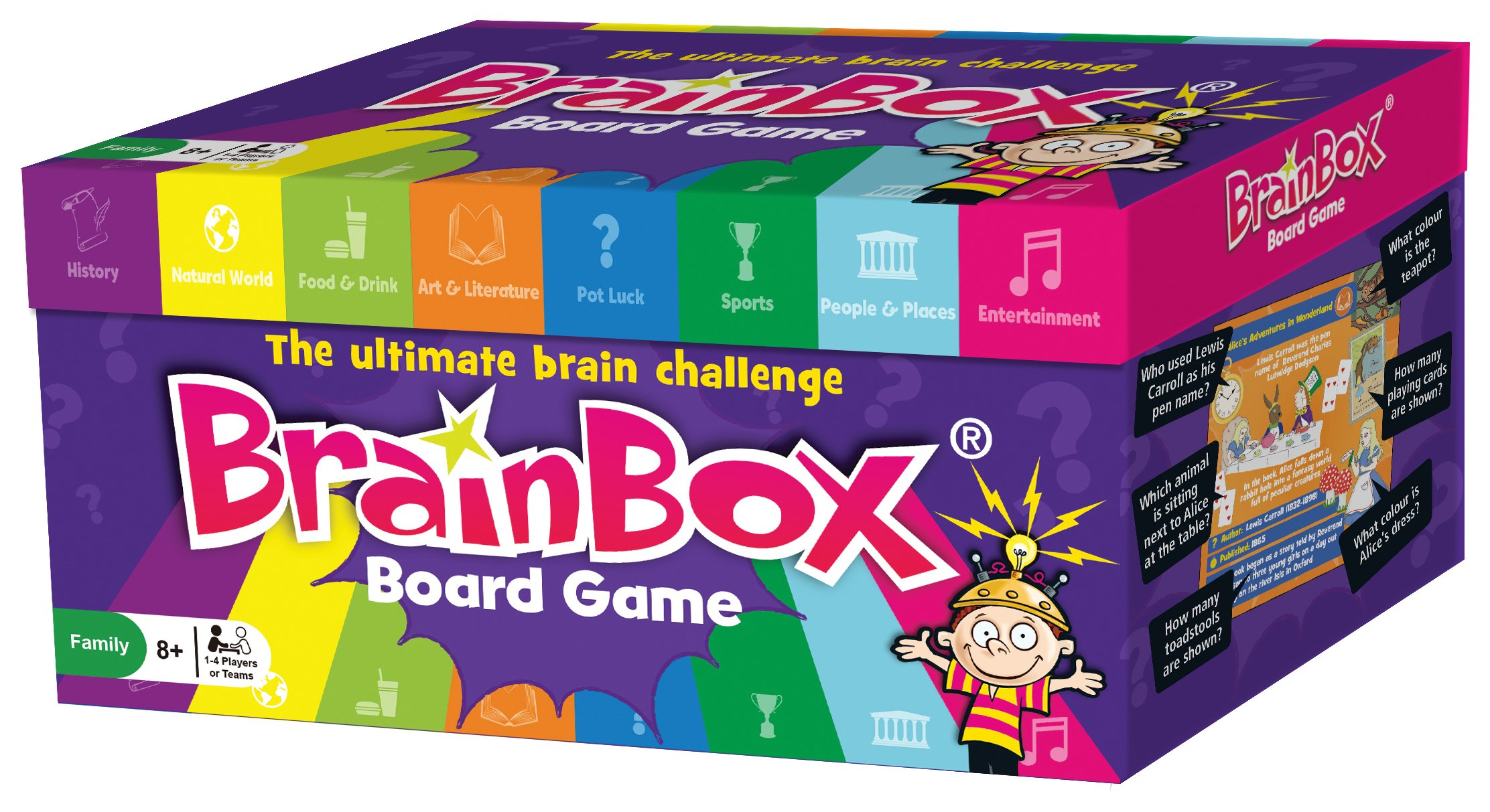 Image of BrainBox Board Game.