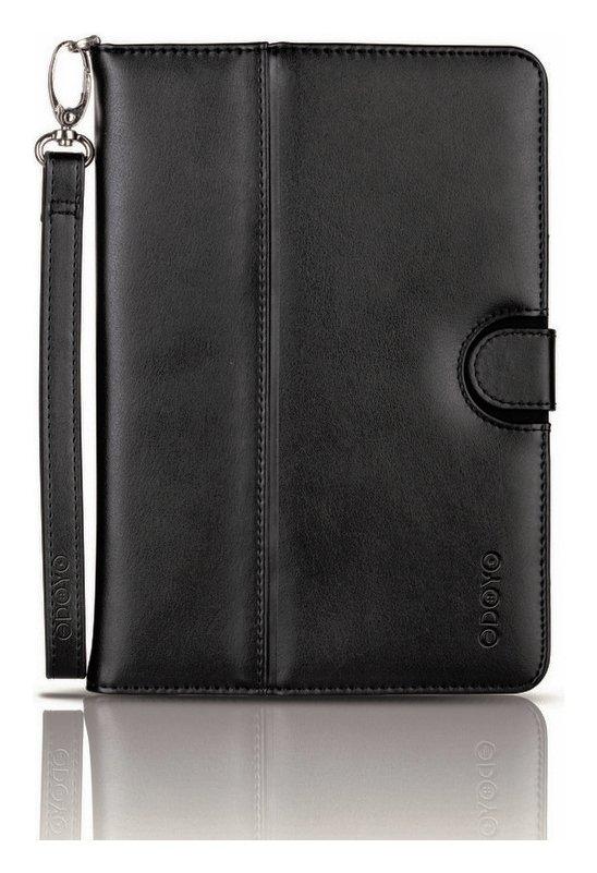 Odoyo Odoyo Leather Folio Case for iPad Mini with Retina - Black.