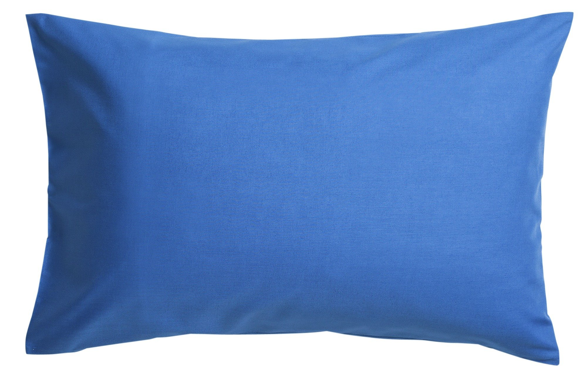 colourmatch pair of housewife pillowcases  ink blue