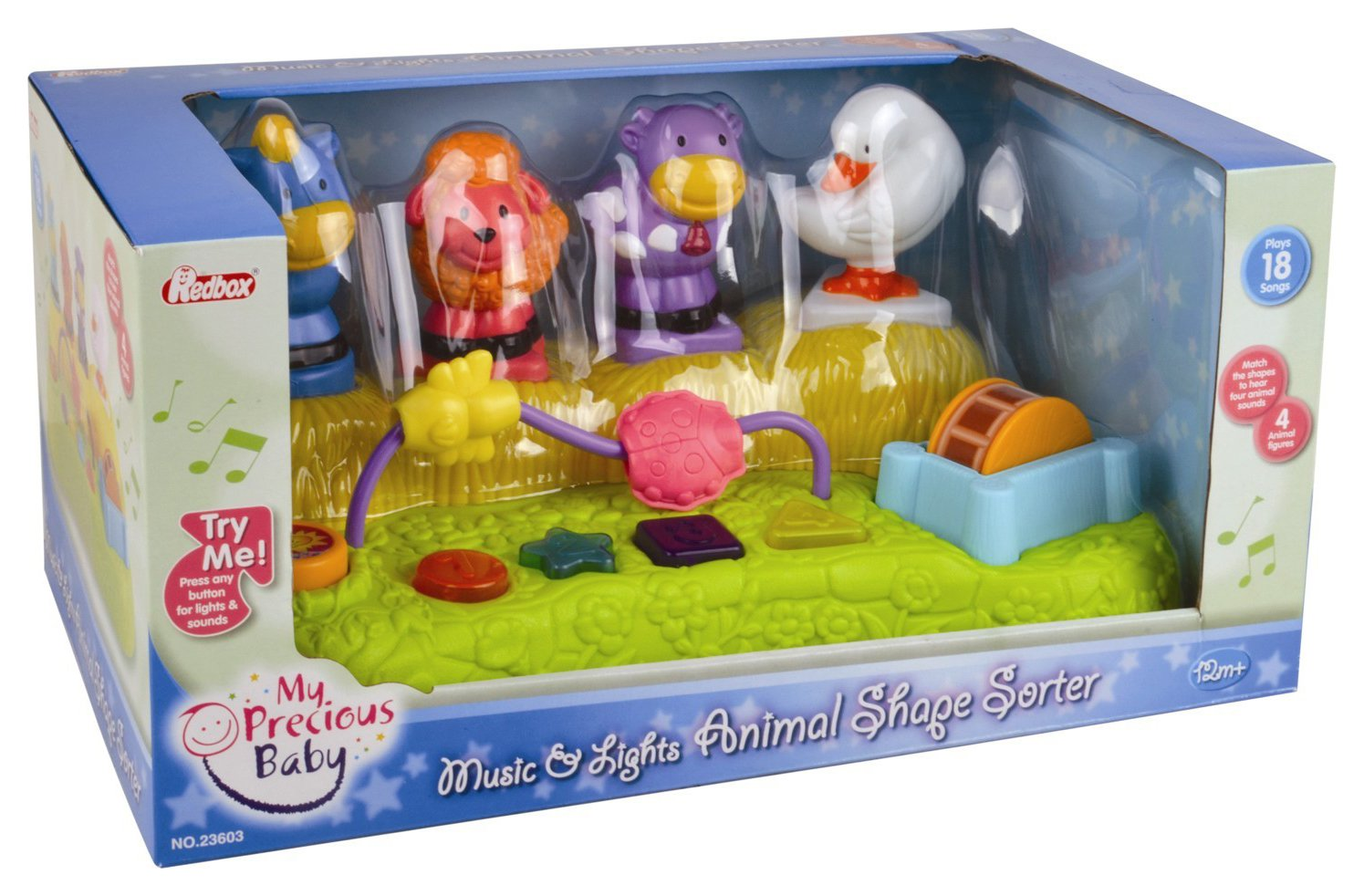 Image of My Precious - Baby Music and - Lights Animal Shape Sorter