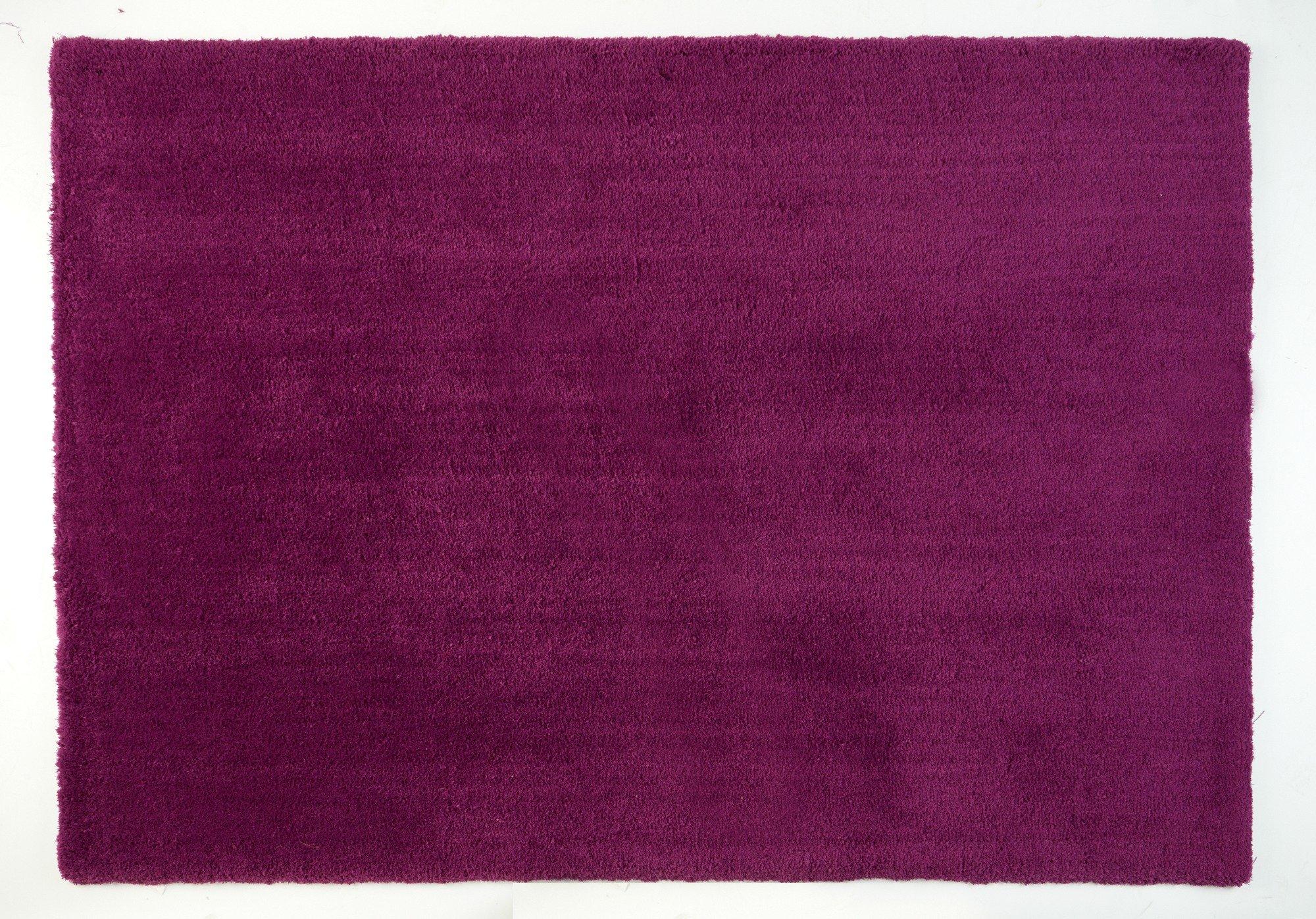ColourMatch Snuggle Shaggy Rug - 110x170cm - Grape