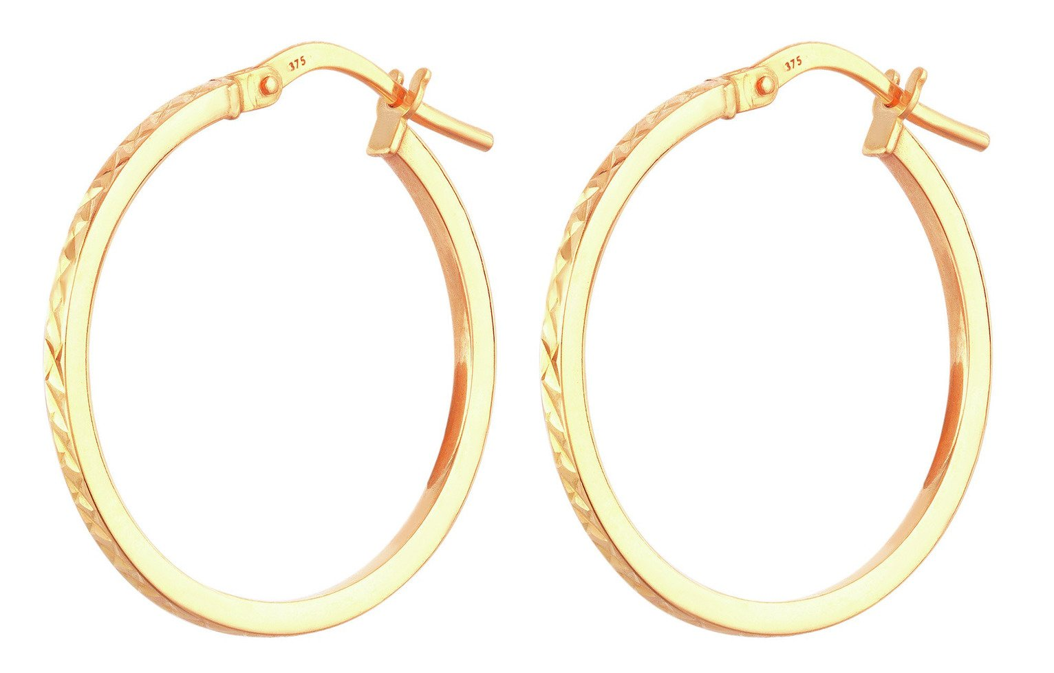 revere-9ct-gold-diamond-cut-hoop-creoles