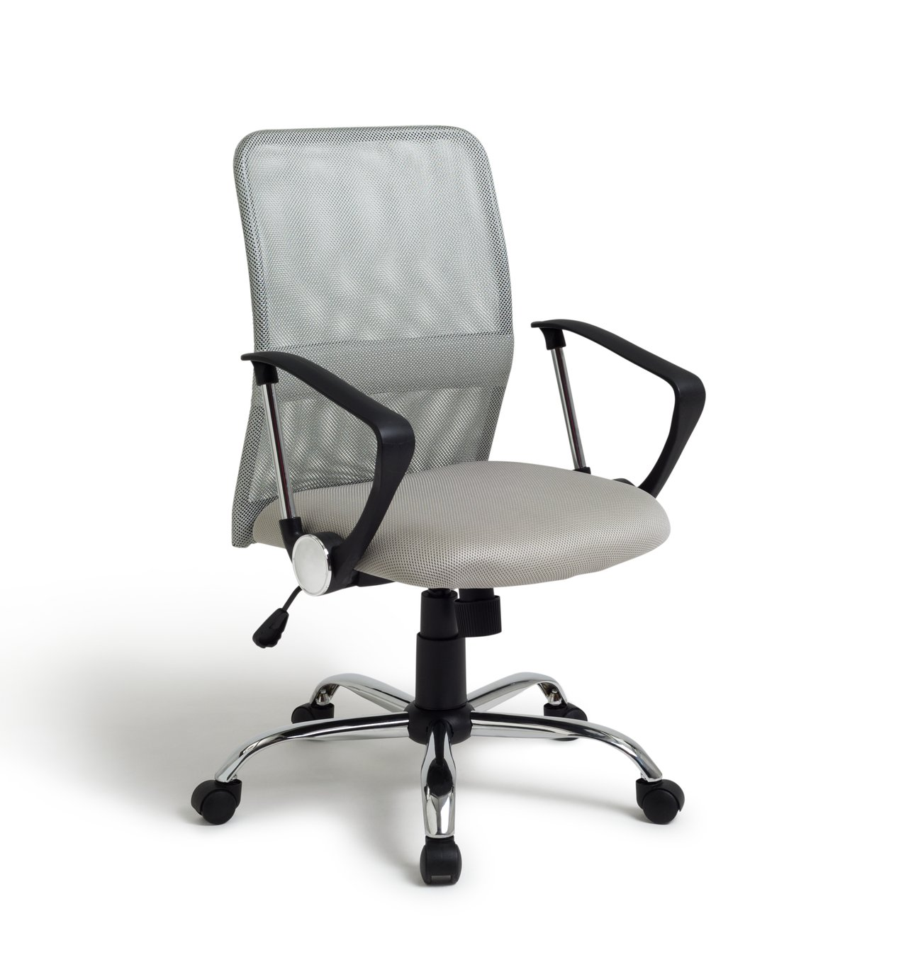 Argos Home Mesh Mid Back Adjustable Office Chair