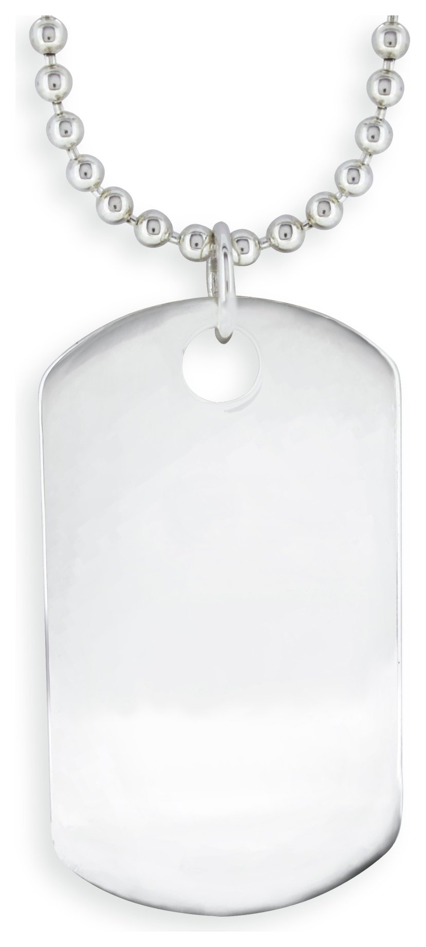 Image of Domain - Gents - Stainless Steel - Dog Tag Pendant Boxed