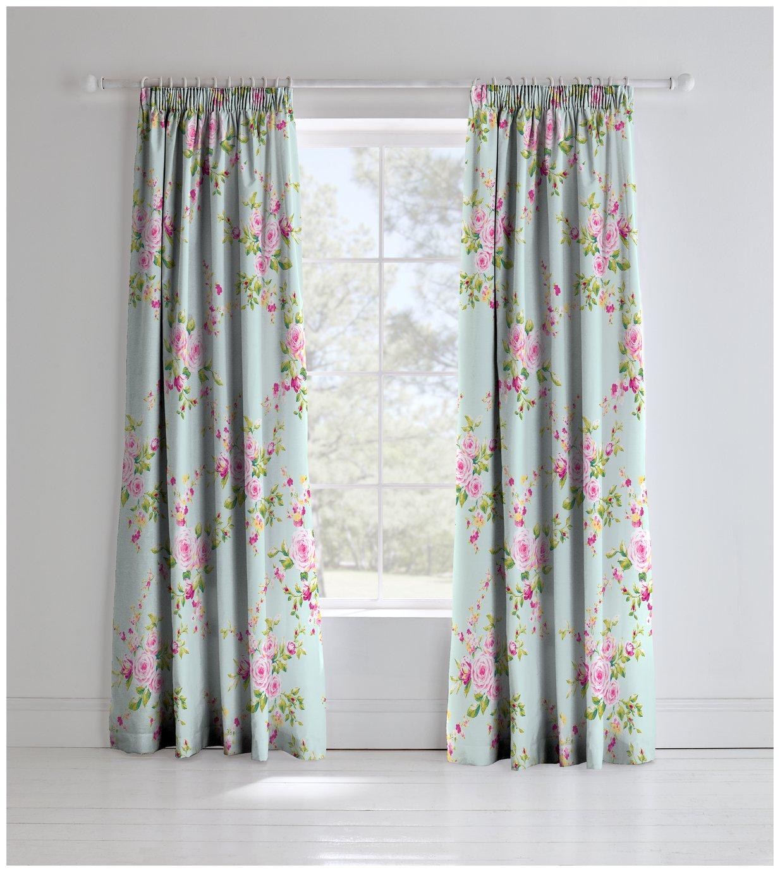 Image of Canterbury Curtains - 165cmx180cm - Multicoloured