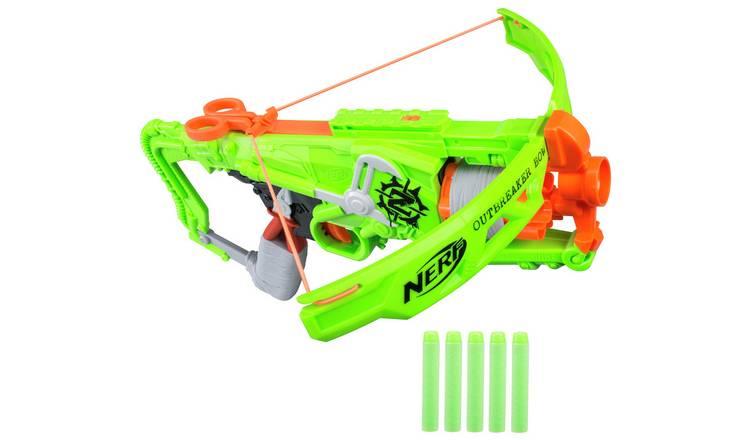 Buy Nerf Zombie Strike Outbreaker Bow | Nerf blasters | Argos